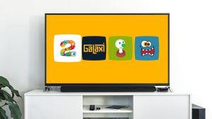 Barnens arena på en Android TV