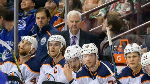 Ken Hitchcock tränar Edmonton Oilers.
