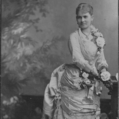 Operasångerskan Emma Engdahl som Rosina