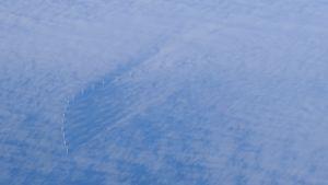 Vindkraftverk till havs utanför Sveriges östkust.