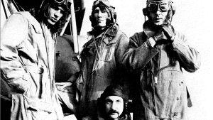 Pink Floyd i flygaruniformer