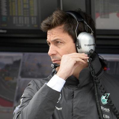 Toto Wolff, stallchef för Mercedes.