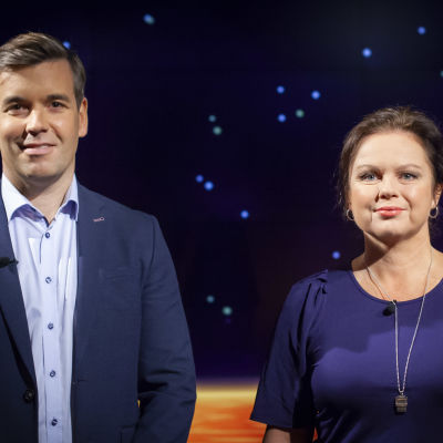 Ann-Luise Bertell med Daniel Olin