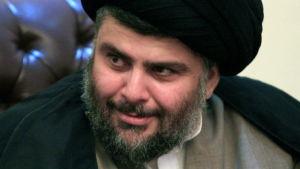 Den irakiska politikern Muqtada al-Sadr.