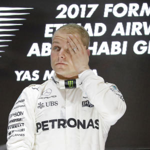 Valtteri Bottas vann tre deltävlingar under sin första säsong på Mercedes.