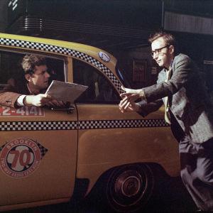 Woody Allen ja Michael Murphy elokuvassa Musta lista (The Front), ohjaus Martin Ritt.