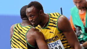 Usain Bolt och Nesta Carter har vunnit många medaljer tillsammans.