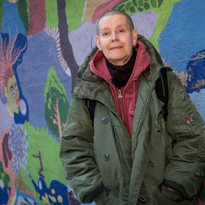 Konstnären Viva Granlund