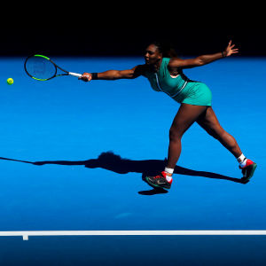 Serena Williams i Australiska öppna.