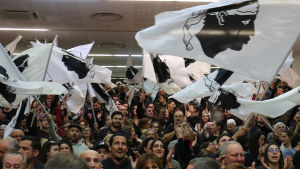 Korsikaner viftar med egen flagga inför regionalvalet