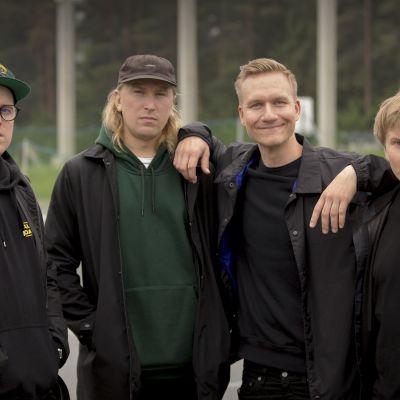 Gasellit Oulunkylän tekojääradalla