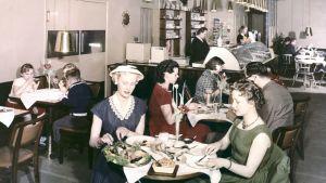 Café Primula i Helsingfors, 1950-tal