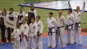 Taekwondolag i Balt cup.