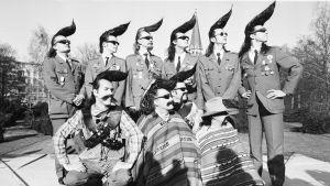 Leningrad Cowboys med Ben Granfelt längst till vänster