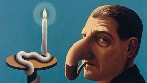 René Magritte: Filosofens lampa (1936)