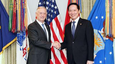 Usa inleder militarovning med sydkorea
