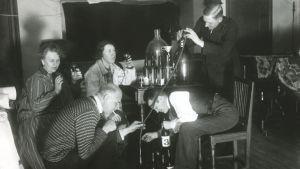 Kotiviinin polttoa 1920-luvulla