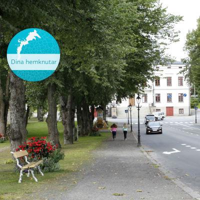 Rådhuset i Kristinestad.