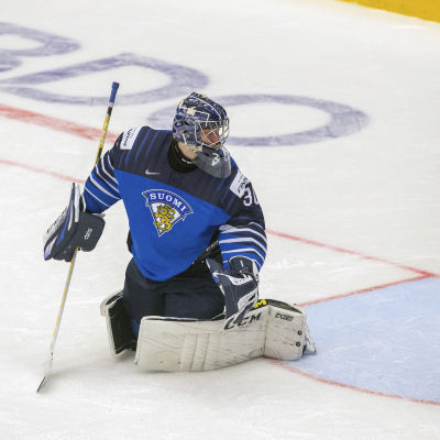 Justus Annunen och resten av det finländska laget ska försöka öppna segerkontot efter förlusten i premiären.