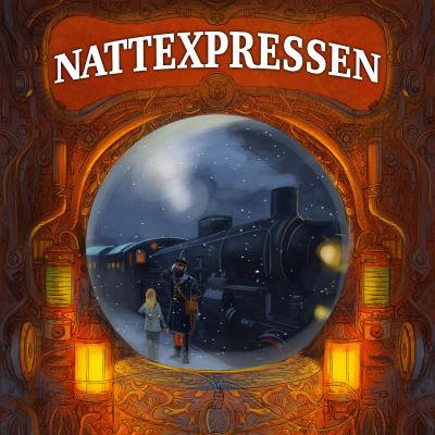 """Pärmen till Karin Erlandssons och Peter Bergtings bok """"Nattexpressen""""."""