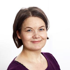 Porträtt av historikern Laura EKholm