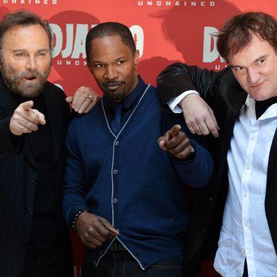 Quentin Tarantino och två andra