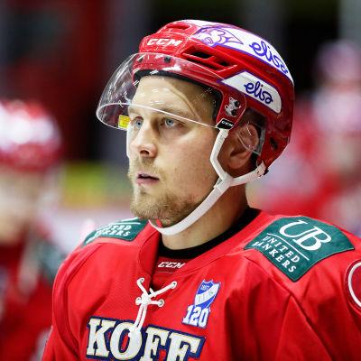 Juhani Tyrväinen spelar för Helsingfors IFK.