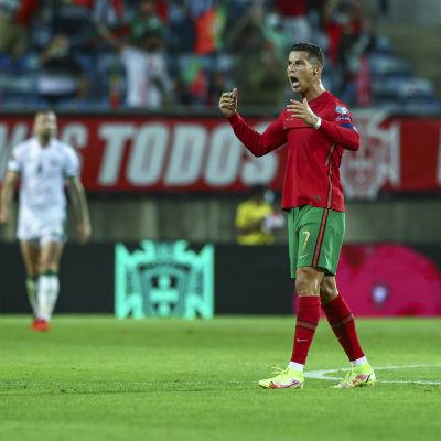 Cristiano Ronaldo on ennätysmies