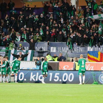 IFK Mariehamn vs HJK Sonera-stadionilla 14.10.2016