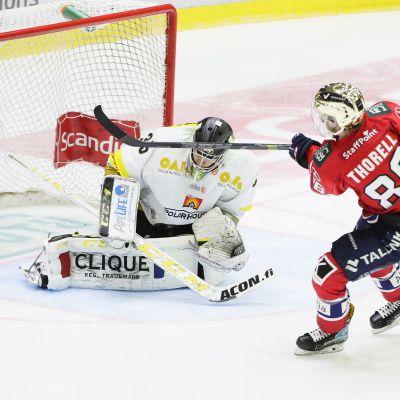 Erik Thorell näytti suuntaa HIFK:lle maanantaina