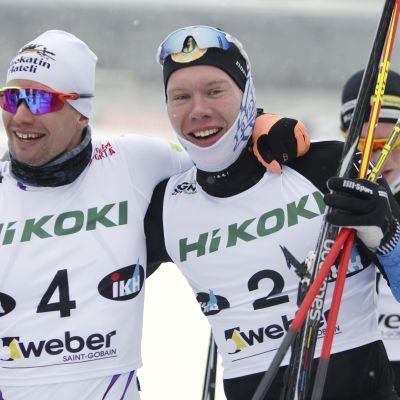 Martti Jylhä (vas.) ja Verneri Suhonen.