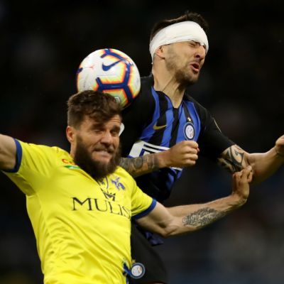 Perparim Hetemaj Chievo Matias Vecino Inter