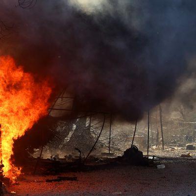 Morian pakolaisleirillä puhkesi torstaina toinen tulipalo, toissaöisen ensimmäisen palon jälkeen.
