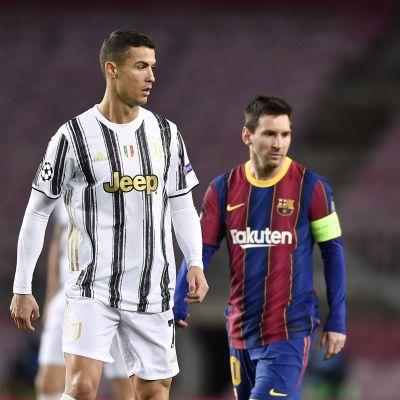 Kohtasivatko jalkapallosuuruudet Cristiano Ronaldo ja Lionel Messi viimeisen kerran tiistaina?