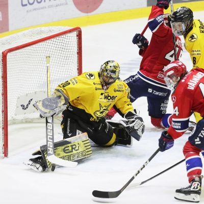 Liigan ottelussa HIFK vs Saipa Helsingissä 16. helmikuuta 2021.
