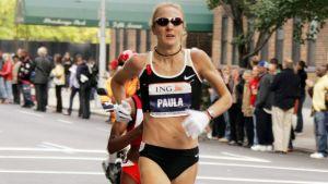 Paula Radcliffe är stolt över sitt maratonrekord och vill absolut inte se det strykas.