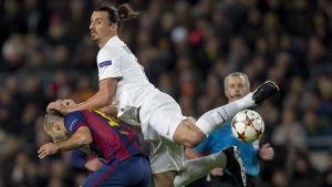 Zlatan Ibrahimovic, Barcelona-PSG, 10.12.2014