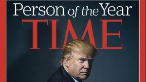 Efter presidentvalet 2016 utnämndes Donald Trump till årets person av Time.