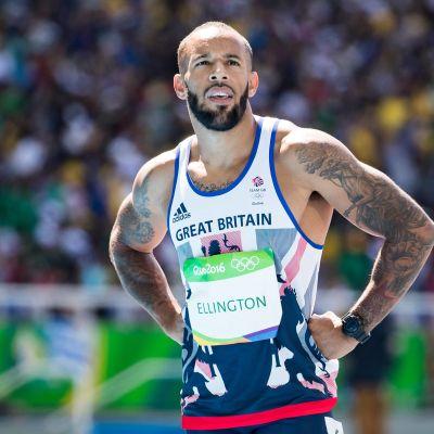 James Ellington Rion olympialaisissa.
