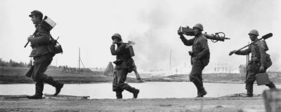 Suomalaisia sotilaita Aunuksessa, 1941