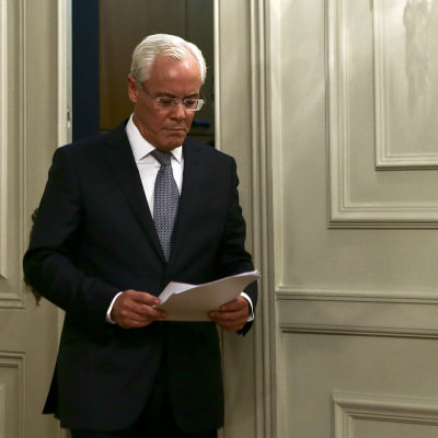 Portugals avgående inrikesminister Miguel Macedo den 16 november 2014.