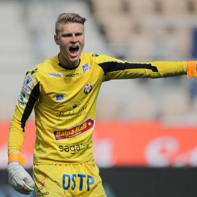Jesse Öst blev Degerfors poängräddare på stopptid.