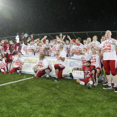 Helsinki Roosters är Finlands mest framgångsrika klubb i amerikansk fotboll.