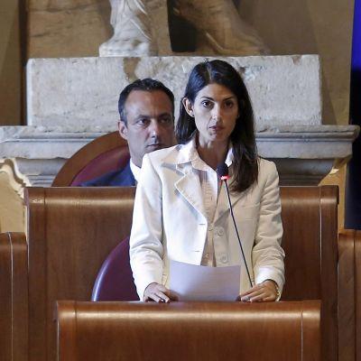 Roms borgmästare Virginia Raggi.