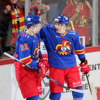 Mika Niemi och Sakari Salminen.