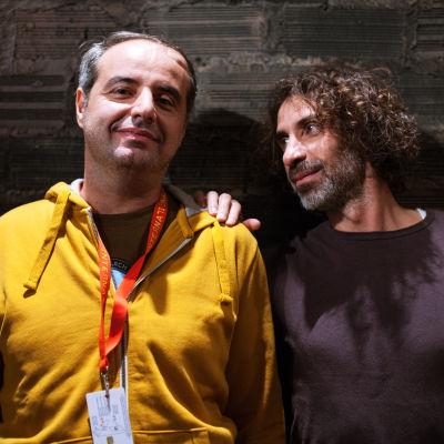 Bröderna Rabih och Yasser Mroué