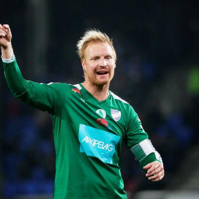 Jani Lyyski, IFK Mariehamns lagkapten