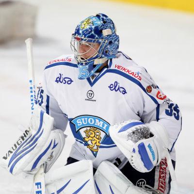 Atte Engren var en av Kari Jalonens favoritmålvakter säsongen 2014–2015.