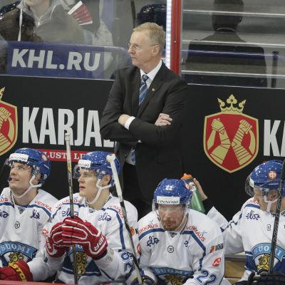 Kari Jalonen i Helsingfors i november.