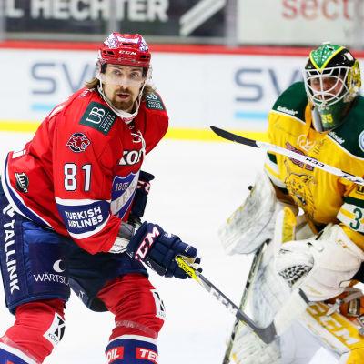 Kai Kantola framför Ilves-målet.